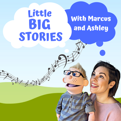 Little stories, BIG impact! Listen while Marcus and Ashley share stories and songs, that will knock your socks off! These original stories are jam-packed with catchy tunes, life lessons and positive messages. Ashley, is an Early Childhood Music Educator and songwriter, dedicated to providing quality music and stories, that encourage kindness, inclusion, cooperation and imagination. Tune in every first Monday of the month, for a new Episode! A podcast for children Ages 2-10 years old.