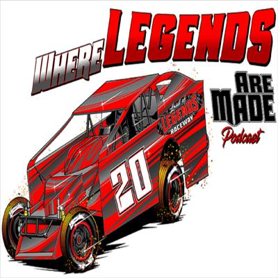 Where Legends Are Made is the official podcast of Land of Legends Raceway located in Canandaigua, NY. Co-hosts Steven & Brad Ovens