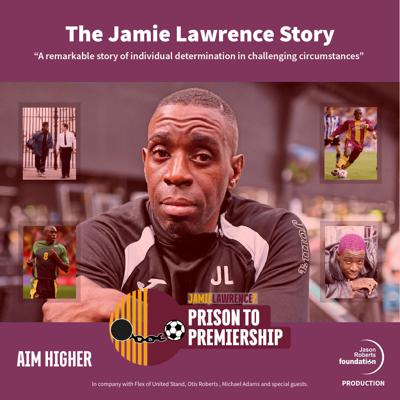 The Jamie Lawrence story. Is a must listen for all young people who find themselves heading into a life of crime. The consequences of making bad choices, the toll on mental health. The up and down cycles of life. There is so much to learn as Jamie bares all.Jamie, is still the only professional footballer to have gone directly from prison to premiership football. Brutally frank, honest and funny this true story of resilience and choices is uncovered as Flex, Otis and Michael are joined throughout the series by many of the colourful characters who have been a part of Jamie's story.