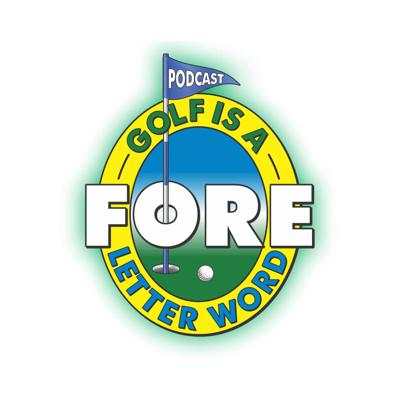 Golf is a FORE letter word