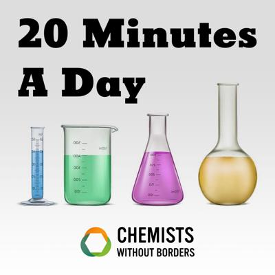 20 Minutes A Day, was designed to promote the 2 Minutes A Day Project and the larger mission of Chemists Without Borders. The goal of the 2 Minutes A Day project is to build a community where chemists and their networks can share and discuss problems, propose solutions, and collaborate in order to have an impact. To further this mission, 20 Minutes A Day will highlight change-makers in the chemistry community everywhere.
