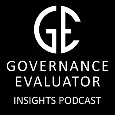 The Governance Evaluator Insights podcast provides a view on Board and Organisation Governance processes and how the digital evolution can impact change.