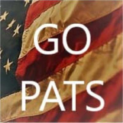 Welcome to the Revolution...Go Pats