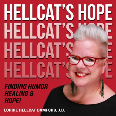 Hellcat's Hope is for people looking for hope and seeing what's possible in their lives, relationships, business, and community. In each episode, Hellcat (her legal name!) will share personal stories and practical takeaways to motivate and inspire you to find your own inner Hellcat in your day-to-day life.