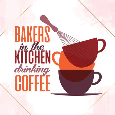 Bakers in the Kitchen Drinking Coffee