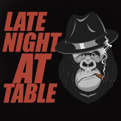 Late night at the table