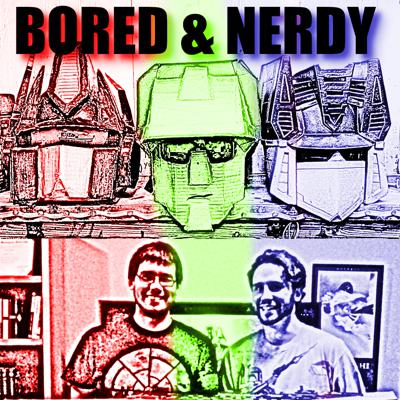 On this Podcast you join Transformers Nerd Christopher & his bored brother Corey for a chat about nerdy things.