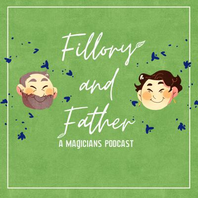 Hello! This is a podcast where Evelyn and their dad (Scott) watch and talk about the Syfy show The Magicians!