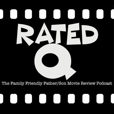 """RATED Q is a fun, family friendly father-and-son movie review podcast in which a 6 year-old named Quentin and his screenwriter dad Jay discuss the latest movie they've watched. Episodes generally run between 10 and 15 minutes, and are (probably) suitable for all ages. *Spoilers* within as we cover not only premise, plot, and characters of these films but may also touch on theme, tone, structure, foreshadowing, dramatic irony, and all of the other myriad elements at play in a dramatic work—making the podcast not only an entertainment but an educational primer on cinematic storytelling. """"You know... for kids!"""""""