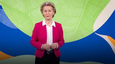 Cover art for Europe's plan to become the first carbon-neutral continent | Ursula von der Leyen