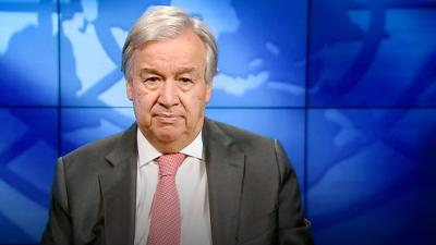 Cover art for The race to a zero-emission world starts now | António Guterres