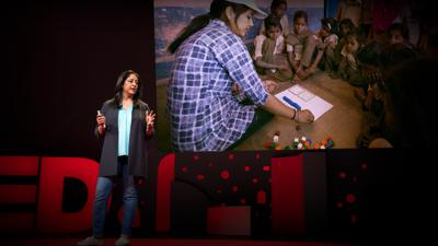 Cover art for A bold plan to empower 1.6 million out-of-school girls in India | Safeena Husain