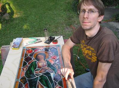Cover art for E6 – Rob Cooper: A Glass Artist from Jackson, Mississippi