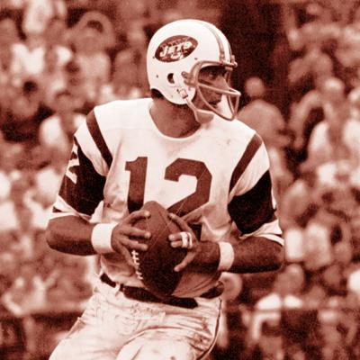 Cover art for How 'Broadway Joe' redefined the NFL