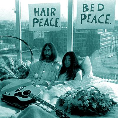 Cover art for Hair peace. Bed peace.