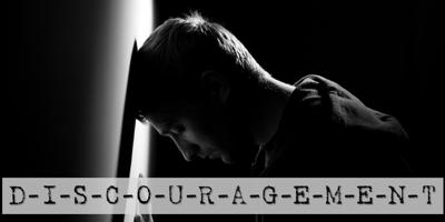 Cover art for Discouragement