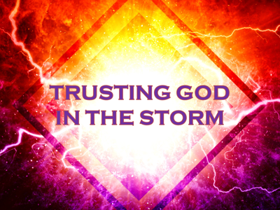 Cover art for Trusting God in the Storm