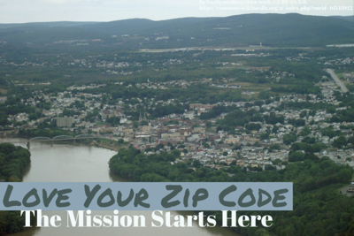 Cover art for Love Your Zip Code: The Mission Starts Here