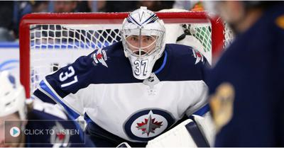 Cover art for Hellebuyck on winning the Vezina, his workload & how he looks back at this season