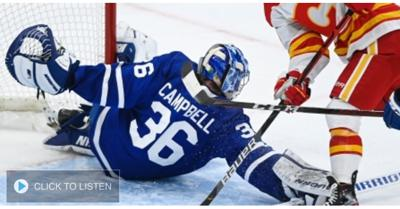 Cover art for McLennan on why he likes Mrazek for Leafs and how he thinks tandem will work with Campbell