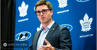 Cover art for Dreger on what constitutes a successful season for the Leafs