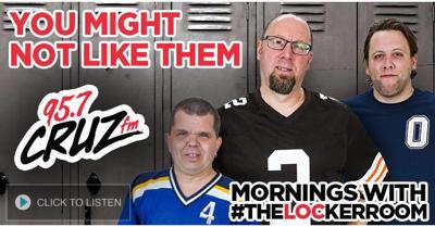 #TheLOCKERROOM on 95.7 CRUZ FM