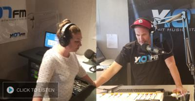Y107 Morning Show with Cosmo and Lauren