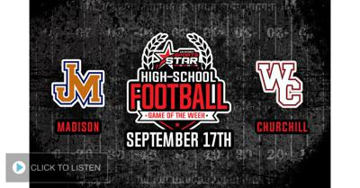Cover art for SA Sports Star HS Football Game of the Week - 9/17/2021