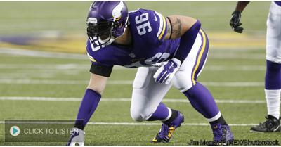 Cover art for Vikings DE Brian Robison joins The Power Trip to break down Sunday's loss to the Steelers