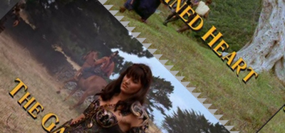 """Cover art for Hercules & Xena 9: """"The Gauntlet"""" & """"Unchained Heart"""""""