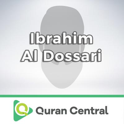 """Ibrahim Al-Dossari  Born in 1965, Riyadh, Saudi Arabia, Sheikh Ibrahim Bin Saeed Bin Hamad Al Dossari is a soulful and eminent Quran reciter.  He gathered his education in Al-ImamMuhammad Bin Saud Islamic University with specialization in the faculty of Usul ud-Din, in the Quran and its sciences and received his Ph.D. in 1994.  Sheikh Ibrahim was even certified by the """"seven readings"""" and the """"Ten Readings"""" according to Al Shatibiyah, Al Durra and Al Taiba under the supervision of reputed Sheikhs.  Ibrahim Al Dossari commenced his career with the ministry of education, in the Quranic memorization middle and high school in Riyadh, 1986 after which he was designated researcher in Al-Imam Muhammad Bin Saud Islamic University, in the Quranic department in 1987.  He has innumerable accomplishments in his career span namely being appointed in the """"commission of Quranic readings diploma curriculum"""", in the faculty of """"Usul ud Din"""" in 2000, as a member of the """"Commission of Quranic Readings Path Curriculum"""" in Al Mu'allimin Universities and many more.  The Islamic council in Al-Imam University included him on their board of members for two years since 2003 not to forget his role as a contributor in the founding committee of the """"Saudi Islamic Association of the Holy Quran and its Sciences"""" followed by being a member of the supreme council of the Qur'an memorization charities.  At present, he is designated being an Imam and a preacher in Al-Amir Muhammad Bin Abdullah Al Saud's mosque in Riyadh which he has happily occupied since 1983."""