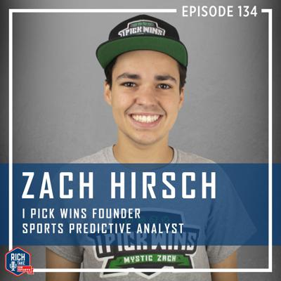 Cover art for Zach Hirsch | I PICK WINS Founder and Sports Predictive Analyst