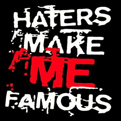 """#HatersMakeMeFamous is also known as the """"Haters Podcast"""" where everything is discussed from life to pot, to doing life for pot and all of the corruption in between.  From the author of the book """"One Life"""" comes this open platform to discuss the things people only think of saying.  Follow Chris Martin's journey from being a kid in the system to then an adult in the system.  This Podcast tackles hard topics about both systems as well as the judicial system while outlining a love story.  It is a story of resolve and dedication to not fail….. or be failed.  Chris Martin now comes to you on his own podcast """"Haters Make Me Famous"""" on Star Worldwide Networks, multiple distribution platforms and on all mobile devices."""