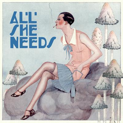 Cover art for All She Needs by Madeleine Swann