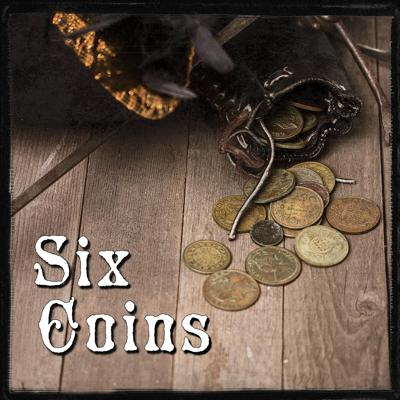 Cover art for Six Coins by Liam Hogan