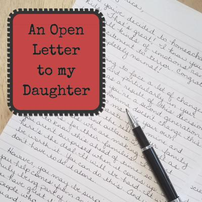 Cover art for #7 An Open Letter to My Daughter