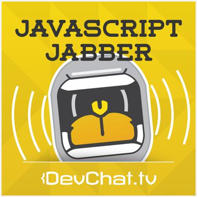 Weekly podcast discussion about Javascript on the front and back ends. Also discuss programming practices, coding environments, and the communities related to the technology.