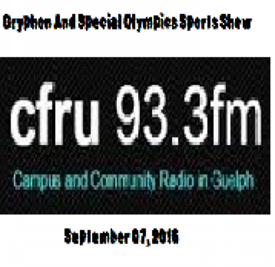 Gryphon And Special Olympics Sports Show