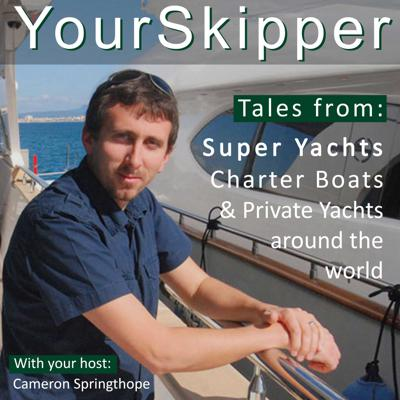 YourSkipper Podcast - with superyacht captains and professionals