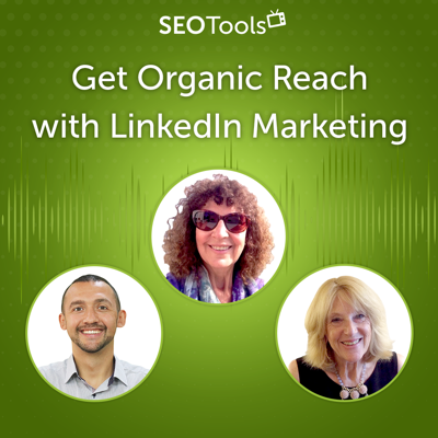Cover art for Get Organic Reach with LinkedIn Marketing | Podcast #12
