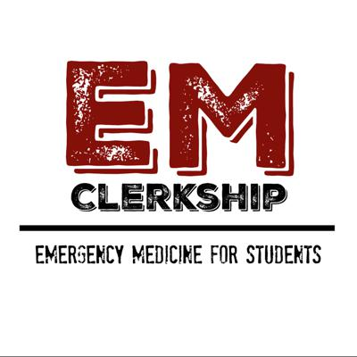 The purpose of this podcast is to help medical students crush their emergency medicine clerkship and get top 1/3 on their SLOE. The content is organized in an approach to format and covers different chief complaints, critical diagnoses, and skills important for your clerkship.