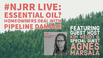 Cover art for #NJRR Live: Essential Oil? Homeowners Deal With Pipeline Damage