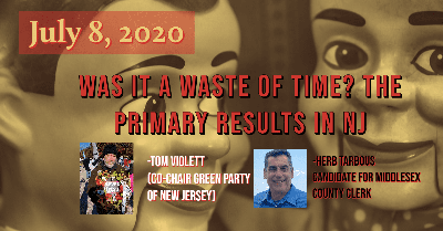 Cover art for #NJRR Live: Was it a Waste of Time? The Primary Results In NJ