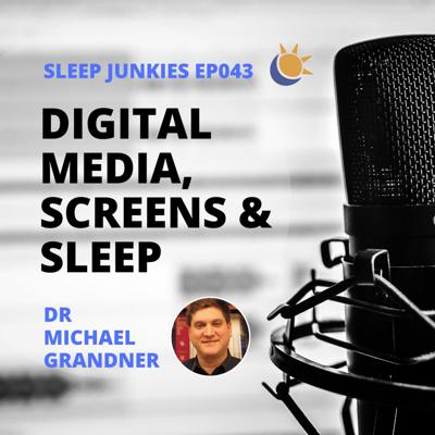 Cover art for Screens, tech and sleep - it's not all about the blue light