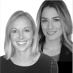 Cover art for Laura Levy and Taylor Jones from Revolent Group, Salesforce talent creation agency on how they create big win-wins