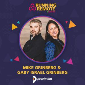 Cover art for Mike Grinberg and Gaby Israel Grinberg, Co-founders, Proofpoint Marketing