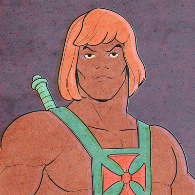 Cover art for He-Man Fights a Gay Bunny-Man