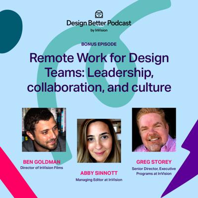 Cover art for Remote Work for Design Teams: Lessons in leadership, collaboration, and culture