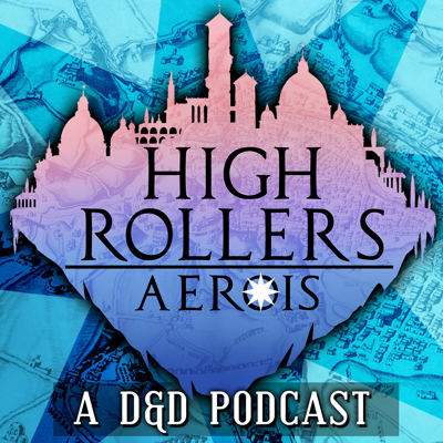 Welcome to High Rollers, a live-play Dungeons & Dragons podcast! Join Dungeon Master Mark Hulmes and his players as they explore the world of Aerois on Europe's biggest RPG stream! Episodes go live Mondays and Thursdays!   Watch live every Sunday at 5pm UK Time on twitch.tv/highrollersdndor catch up on missed episodes on youtube.com/highrollersdnd!