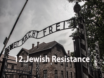 Cover art for Jewish Resistance #12